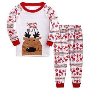 Other - Long Sleeve Christmas Pajamas Santas Little Helper